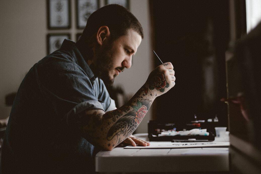 planning a tattoo